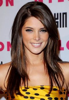 Ashley Greene hair style