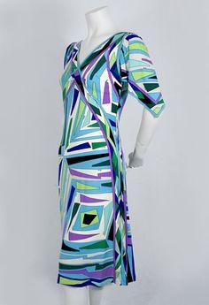 Pucci silk jersey dress