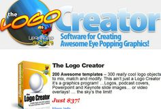 I will give you the Logo Creator Software v6x for $5