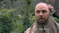 "Karl Pilkington from ""An Idiot Abroad"" TV series"