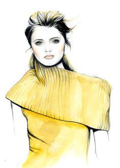 Do you like my tight sweater ? - Caroline Andrieu