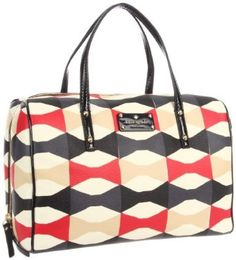 Kate Spade New York Abstract Signatur-Shawna Satchel