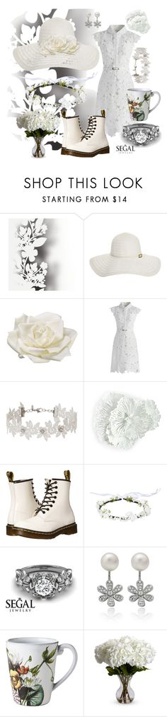 """""""Untitled #762"""" by annsofisweden ❤ liked on Polyvore featuring Élitis, Melissa Odabash, Allstate Floral, Chicwish, Miss Selfridge, WALL, Dr. Martens, Juliska and Nearly Natural"""