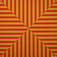 Frank Stella (b. Marrakech, Fluorescent alkyd on canvas. 77 × 77 × 2 in. The Metropolitan Museum of Art, New York; Robert C. Scull, 1971 © 2015 Frank Stella/Artists Rights Society (ARS), New York Josef Albers, Anni Albers, Jackson Pollock, Hard Edge Painting, Action Painting, Arrow Painting, Franz Kline, Jasper Johns, Post Painterly Abstraction