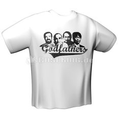 Modern League GODFATHERS T-Shirt White