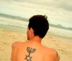 Menorah & Magem David; second tattoo