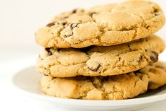 The New York Times Chocolate Chip Cookies* - not a traditional chocolate chip cookie, uses a combination of bread & cake flours to achieve a chewy, delicate texture. It is packed full of dark chocolate & sprinkled with sea salt. Taste & look like they walked out of a high end bakery.