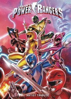 Mighty Morphin Power Rangers by Felipe Massafera