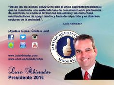 Luis Abinader Presidente 2016-2020