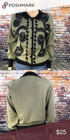 Retro 80's Adolfo Stylish Sweater Retro 80's Adolfo Stylish Sweater  With shoulder pads Adolfo Sweaters Crew & Scoop Necks