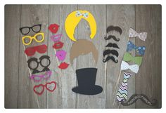 Going Wild Exclusive - Photobooth Props   Photo Booth Props Shop   photobooth props fotohokje attributen