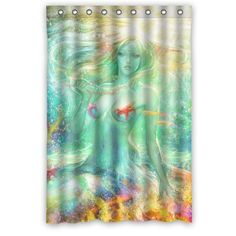 Pretty Marine Vintage Mermaid Waterproof Bathroom Fabric ... http://www.amazon.com/dp/B00NTPCBUU/ref=cm_sw_r_pi_dp_8gmlxb1Y5YJQF