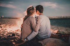 Casal na praia ❤