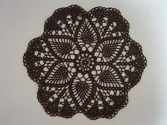 Pineapple Doily Free Pattern