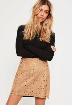 7 Suede Skirts you'll want this Summer | Pin: Heatonminded