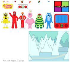 yo gabba gabba pictures to printable pictures | ... to enlarge. Right-click and print! Sent in to Gabbafriends by Scott