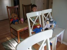 Pretend Play: Airplanes    Fun idea for making tickets, arranging the seat numbers & books to read after