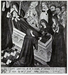 Image of St. Sexburga feast day 6th July pray for us.
