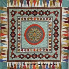 2014: Soupcon Quilt Along from Faeries and Fibres:   Karen H