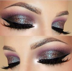 Beautiful eye shadow color by makeup geek
