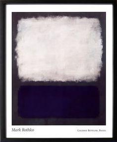 モダンアート/マーク・ロスコBlueandGrey,c.1962