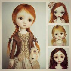 Dolls, Muñecas de porcelana que cobran vida propia by Dragronsflyworks.