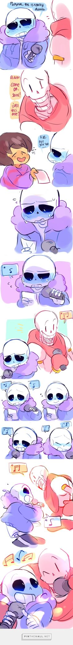 Sans and Papyrus - karaoke - comic<<< Play the drop pop candy sans & papyrus version while scrolling thought this!
