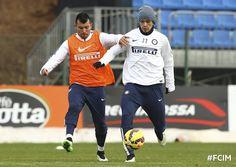 Gary Medel entrena con el Inter