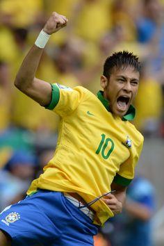 Neymar!  More info here : http://www.braziltravelbeaches.com/neymar.html