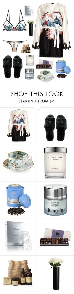 """Relaxing day"" by beelovem ❤ liked on Polyvore featuring River Island, Hermès, Ralph Lauren, Piccadilly, La Prairie, Space NK, SkinCare and John Lewis"