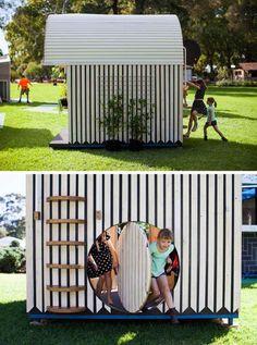 maison enfants exterieur amenagement jardin