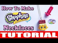 Shopkins Necklaces - Make Your Own - DIY Handmade Jewelry Jewellery Tutorial - HD - YouTube