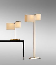 Black can be a great colour for an elegant lighting design and a black floor lamp is definitely a must-have in any home. Bright Floor Lamp, Black Floor Lamp, Led Floor Lamp, Decorative Floor Lamps, Modern Floor Lamps, Cool Floor Lamps, Decorative Lighting, Fendi, Interior Lighting