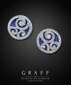Graff Diamonds: Diamond on Diamond Earrings