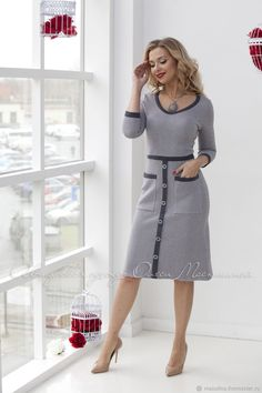 Shop sexy club dresses, jeans, shoes, bodysuits, skirts and more. Simple Dresses, Casual Dresses, Short Dresses, Dresses For Work, Vestidos Vintage, Vintage Dresses, Women's Fashion Dresses, Dress Outfits, Fashion 2018