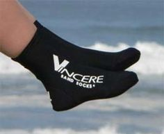 Sand Socks! Awesome find for swim  sand. They even have tots sizes. YOU'LL NEED THESE FOR BEACH VB!!! Trust me!