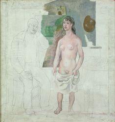 picasso - le peintre et sa muse achevé/inachevé