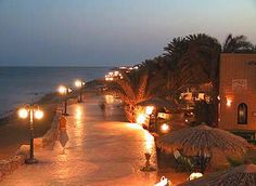Promenade in Dahab -- Sinai Peninsula, Egypt holy crap they cleaned it up - it was a hippie hotspot in the late 80's early 90's - this looks like sharm