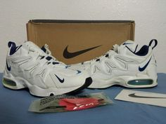 buy popular 099af 7848f Nike Air Max Tailwind 96 VTG OG 11.5 95 97 98 Photo Blue 90 1 DS
