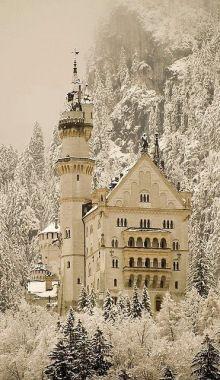 Beautiful Neuschwanstein Castle in Bavaria, Germany