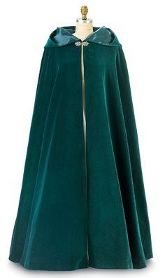 Celtic Capes And Cloaks Patterns | ... Cape, Renaissance cloak, Black velvet cloak, Red cloak, women cloak