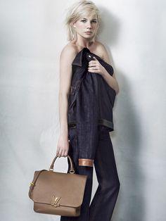 Michelle William for Louis Vuitton