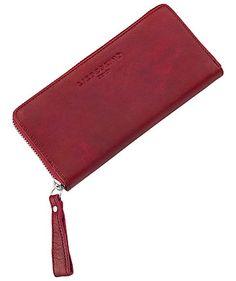 "Red Purse ""Sally 2D"" by Liebeskind Berlin  #leather #gift #engelhorn  www.fashion.engelhorn.de"