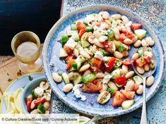 Lima Bean, Tomato and Feta Salad Healthy Ways To Lose Weight Fast, Best Weight Loss Foods, Healthy Diet Plans, Healthy Eating, Healthy Recipes, Food Articles, Eat Smarter, Greek Recipes, Baking Center