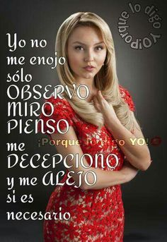 """""""I don't get angry just observe,look,and think. I get disappointed and walk away… Jenni Rivera, Disappointment, Strong Women, Laughter, Funny Quotes, Feelings, Ecuador, Latina, Spanish"""