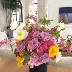 Flower Arrangement by @ufgrangehall