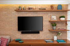 Trendy home sala grande tvs Tv Unit Furniture, Home Decor Furniture, Home Room Design, Interior Design Living Room, Living Room Tv Unit Designs, Modern Tv Wall Units, Simple Living Room Decor, Tv Wall Decor, Diy Wall