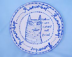 Ruby's plate.