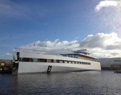 Steve Jobss Yacht Venus By Philippe Starck
