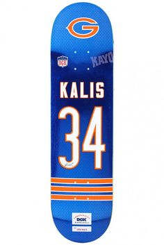 Kalis Throwback Skateboard Deck by DGK